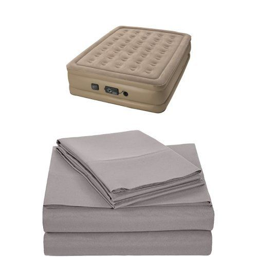 Insta-Bed Raised Air Mattress with Never Flat Pump - Quee ...