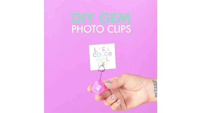 Found it at Blitsy - DIY Gem Photo Clips