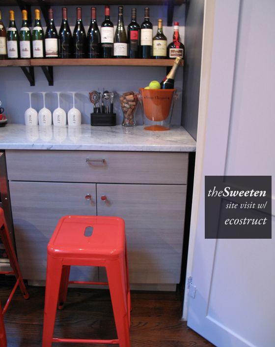 site visit closet to wine bar w ecostruct llc for the home closet bar bar converted closet. Black Bedroom Furniture Sets. Home Design Ideas