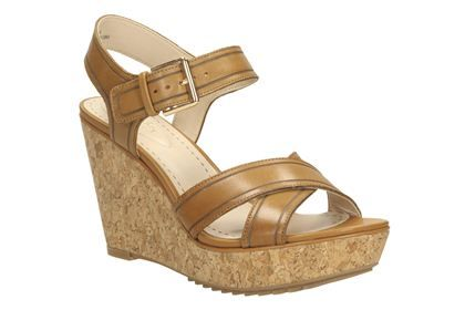 Clarks Scent Sky Sandals Color: Brown