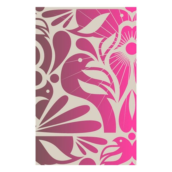 Birds Wallpaper in Vintage Plum and Pink design by Kreme From the California Collection, Birds Wallpaper. LA-based design house Kreme Life's wallpapers are low…