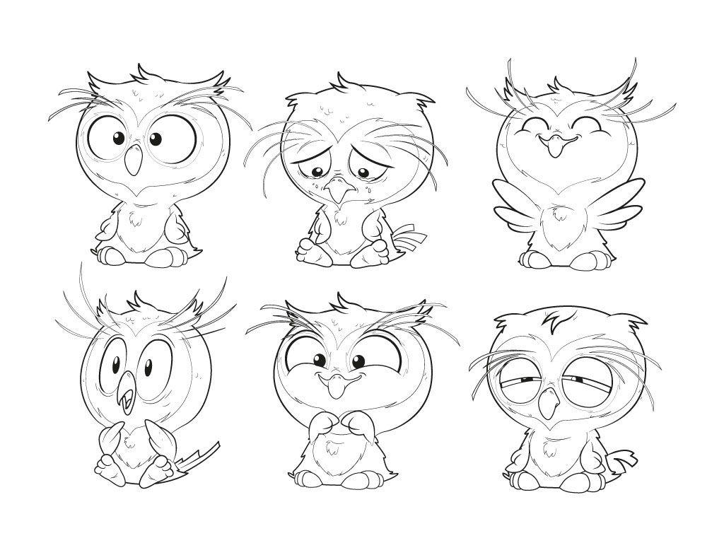 ilustrator CS 5 | Zeichnen/Vorlagen | Pinterest | Baby owl, Owl ...