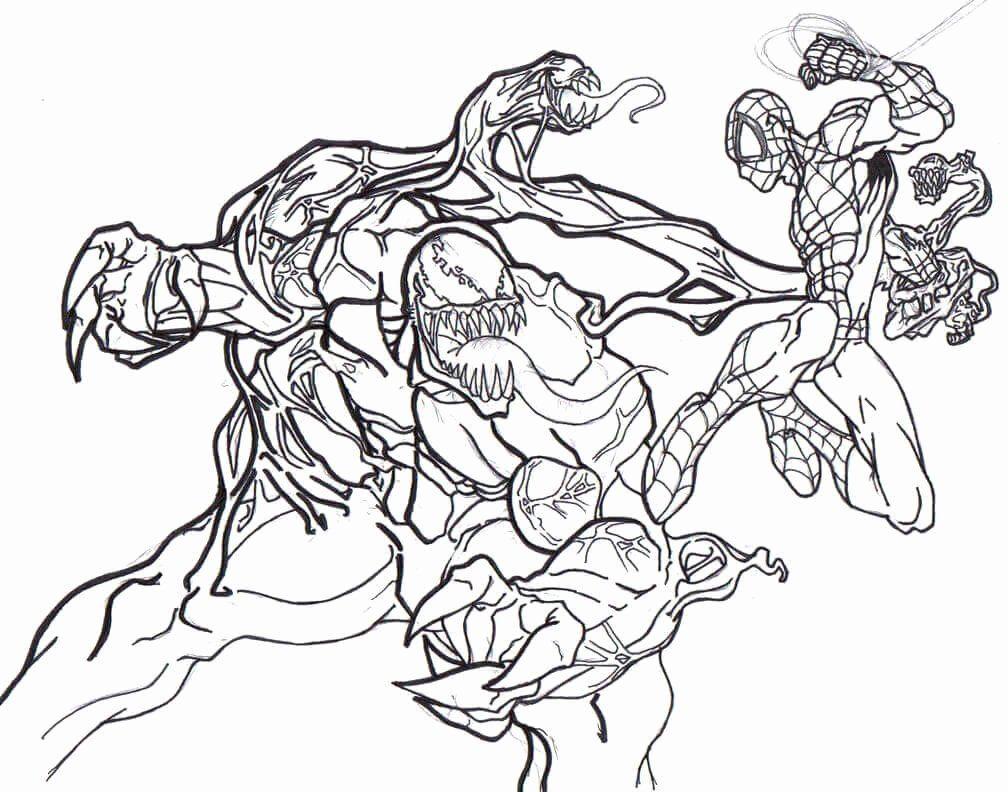 Venom Coloring Pages Printable Luxury 15 Free Printable Venom Coloring Pages In 2020 Spiderman Coloring Coloring Pages Love Coloring Pages