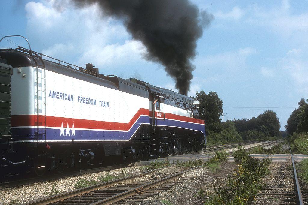 The American Freedom Train 4449 Train Train Pictures Steam Trains