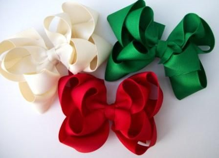 Stacked Hair Bows