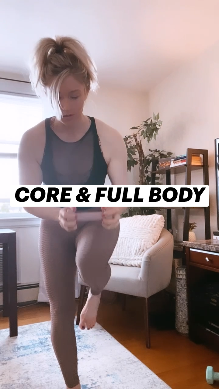 CORE & FULL BODY WORKOUT - EASY & QUICK!