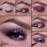 Shimmery Purple