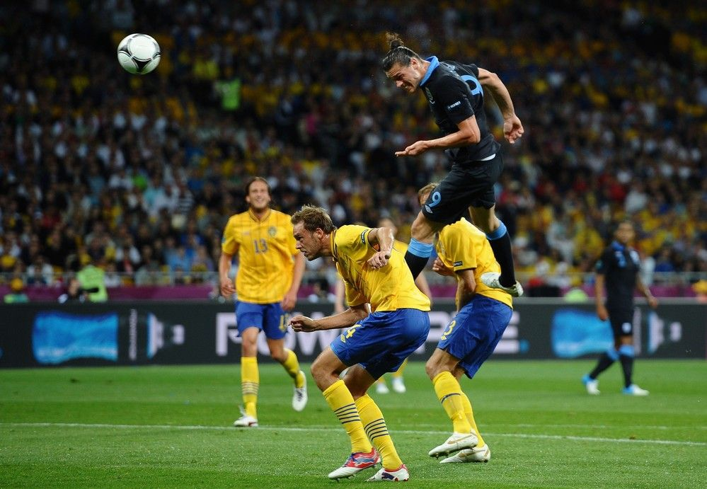 Carroll scores vs sweden euro 2012 in pictures andy