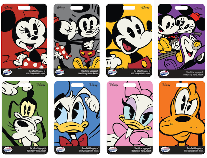 Printable Disney World Luggage Tags Vacation Dreaming Of Disney