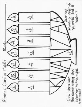 Kwanzaa Kinara Candle Math Kwanzaa Holidays Around The World Math