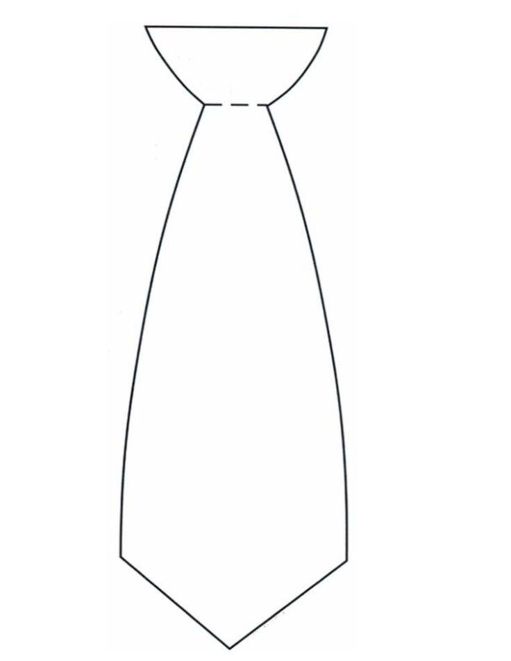 Necktie Drawing Drawing of a necktie necktie | kids ...