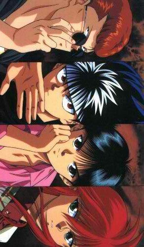 Yu Yu Hakusho - lovin this Yusuke