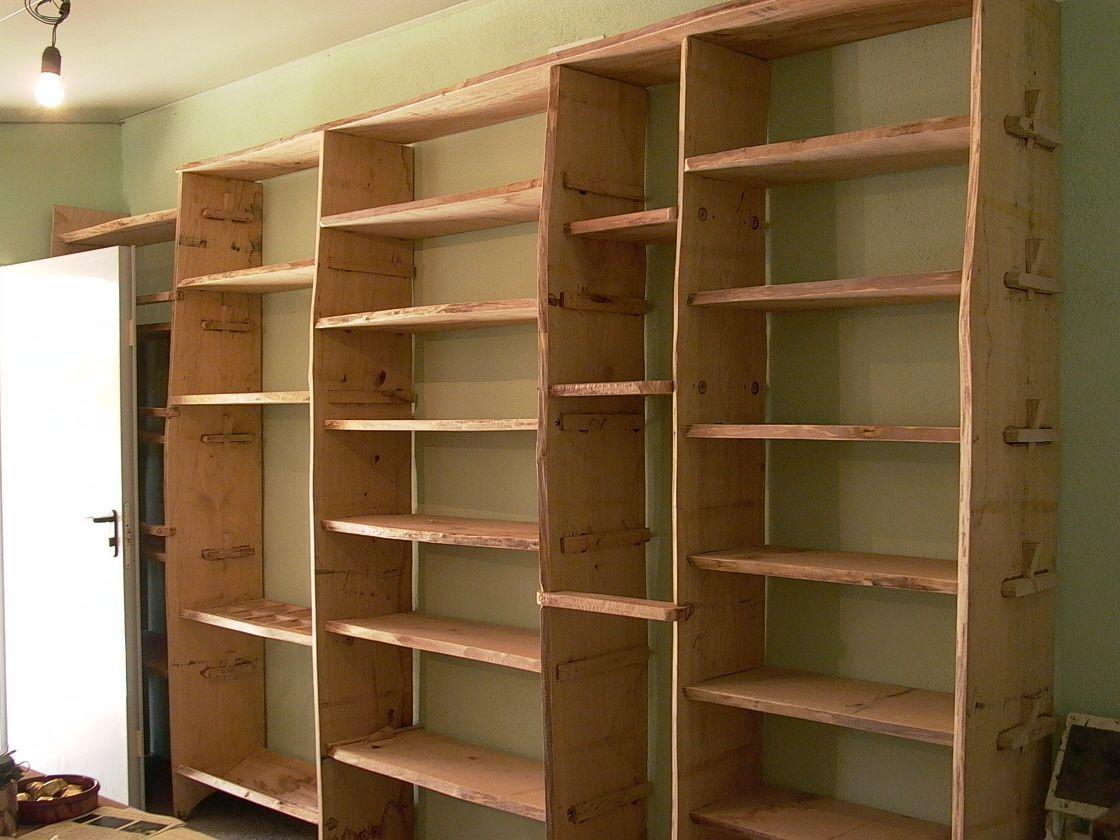 Encaje estanter a para tienda madera tiendas - Estanterias en madera ...