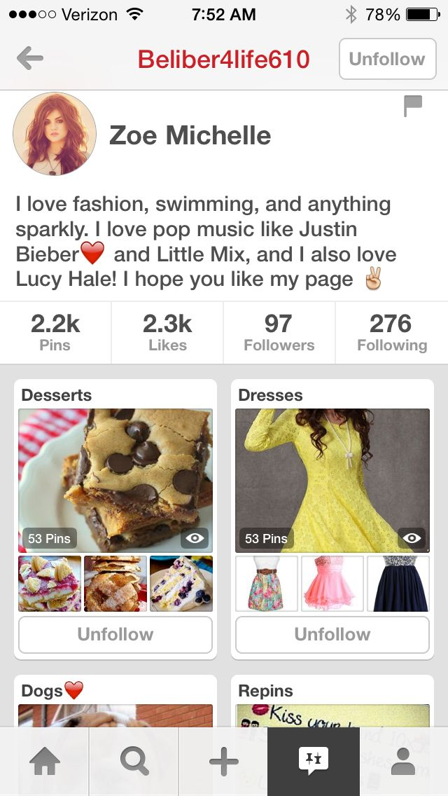Please follow this girl she has great boards