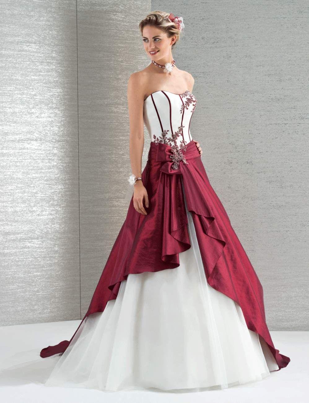 on ose la robe de mari e color e robes de mari e color es la robe de mari e et oser. Black Bedroom Furniture Sets. Home Design Ideas