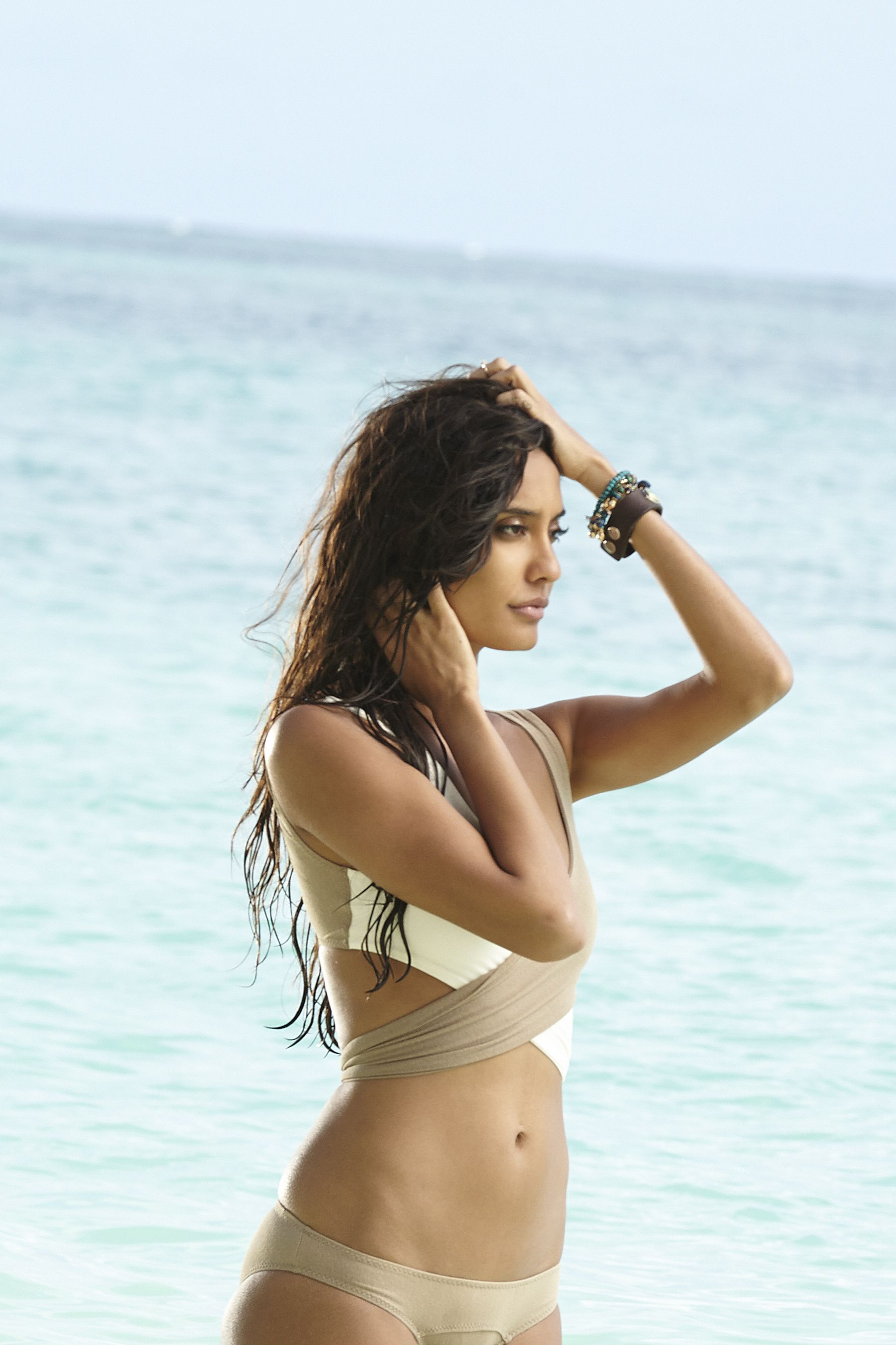 pic: lisa haydon's scorching hot bikini sequence http://toi.in