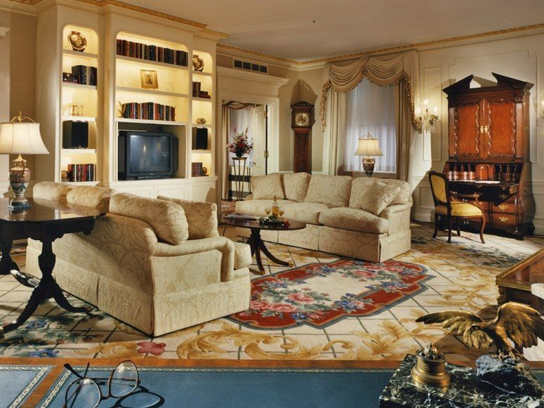 Travel inspiration waldorf astoria and beautiful places for Presidential suite waldorf astoria