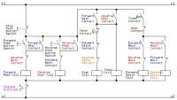 Electrical and Electronics Engineering: Control Circuit of a Forward Reverse Star (Wye) De...