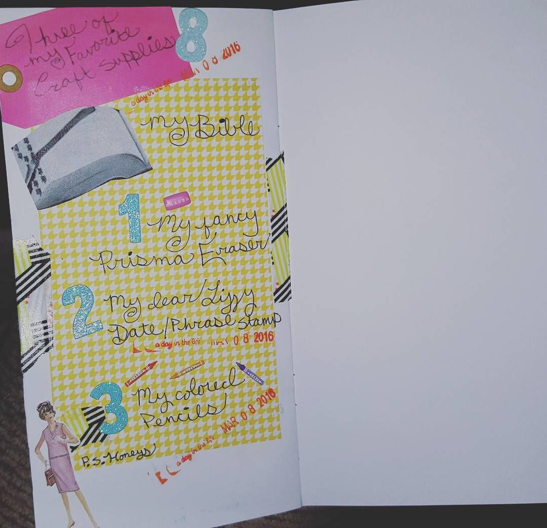 Day 8 #listersgottalistmar  Three of my favorite craft supplies  #theresetgirl #biblejournaling #biblejournalingcommunity #illustratedfaith http://ift.tt/1KAavV3