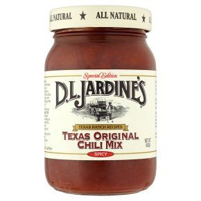 D.L. Jardine's Texas original chilli mix spicy for tamale pie