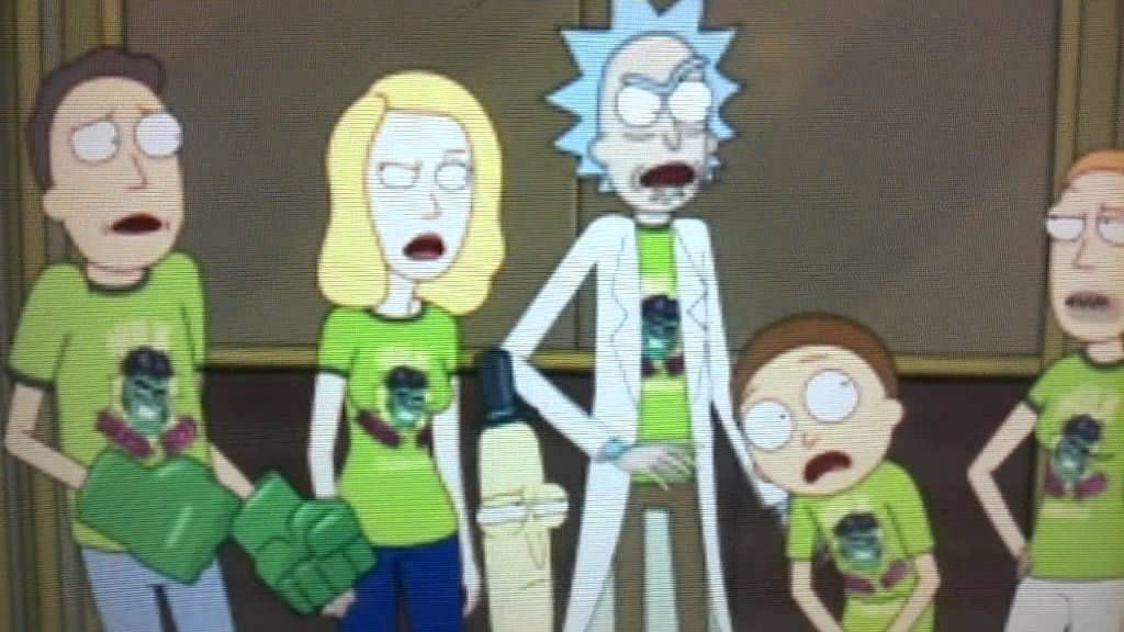 Rick and Morty Summer dont give a FucK