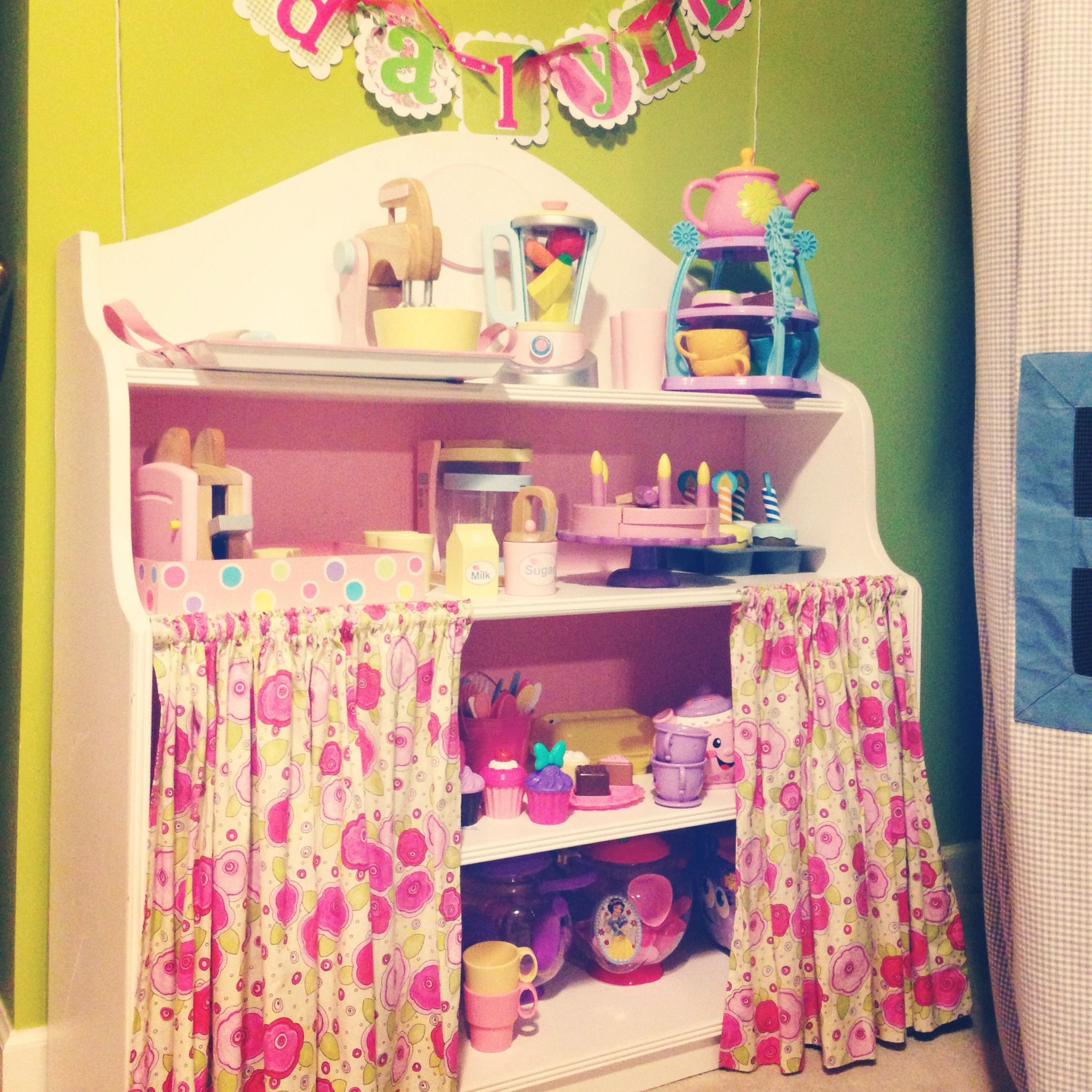 Custom Made Baker S Rack To Go With That Cute Pink Retro Kitchen