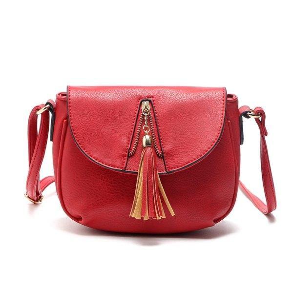 6f889c0209 RoseWholesale -  Rosewholesale 2017 Tassel Women Bag Leather ...