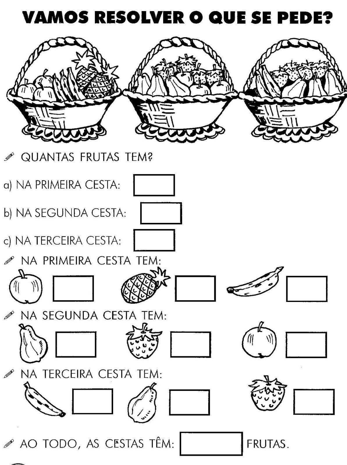 Well-known atividades de matematica 1 serie ensino fundamental - Pesquisa  LS29