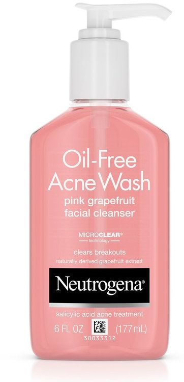 Photo of Neutrogena® Oil-Free Acne Wash Pink Grapefruit Facial Cleans…