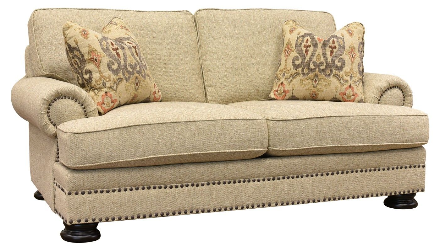Home Zone Sofa Katrina Ii Loveseat Totty Haslet Furniture Love Seat Living