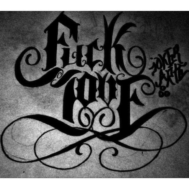 Fuck Love Tatoos 75