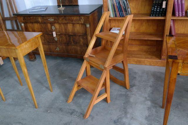 leiter stuhl f r bibliothek individuelle ma anfertigung pinterest. Black Bedroom Furniture Sets. Home Design Ideas