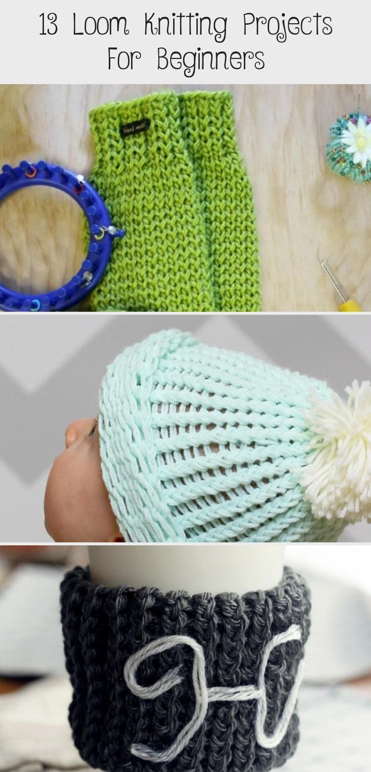 Photo of 13 Loom Knitting Projects For Beginners :  Knit up a warm and fun infinity loom …