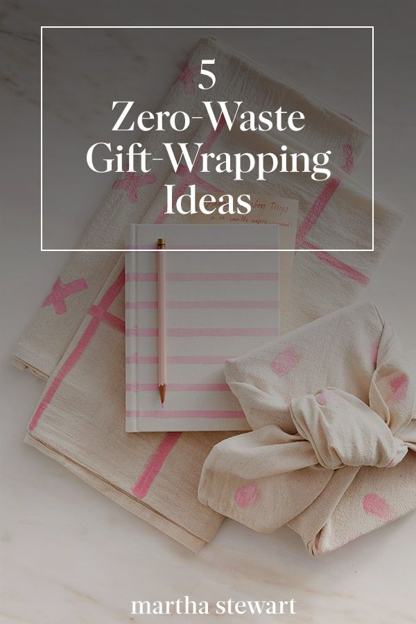 Zero Waste Is The Gift Wrapping Trend Of 2018 According