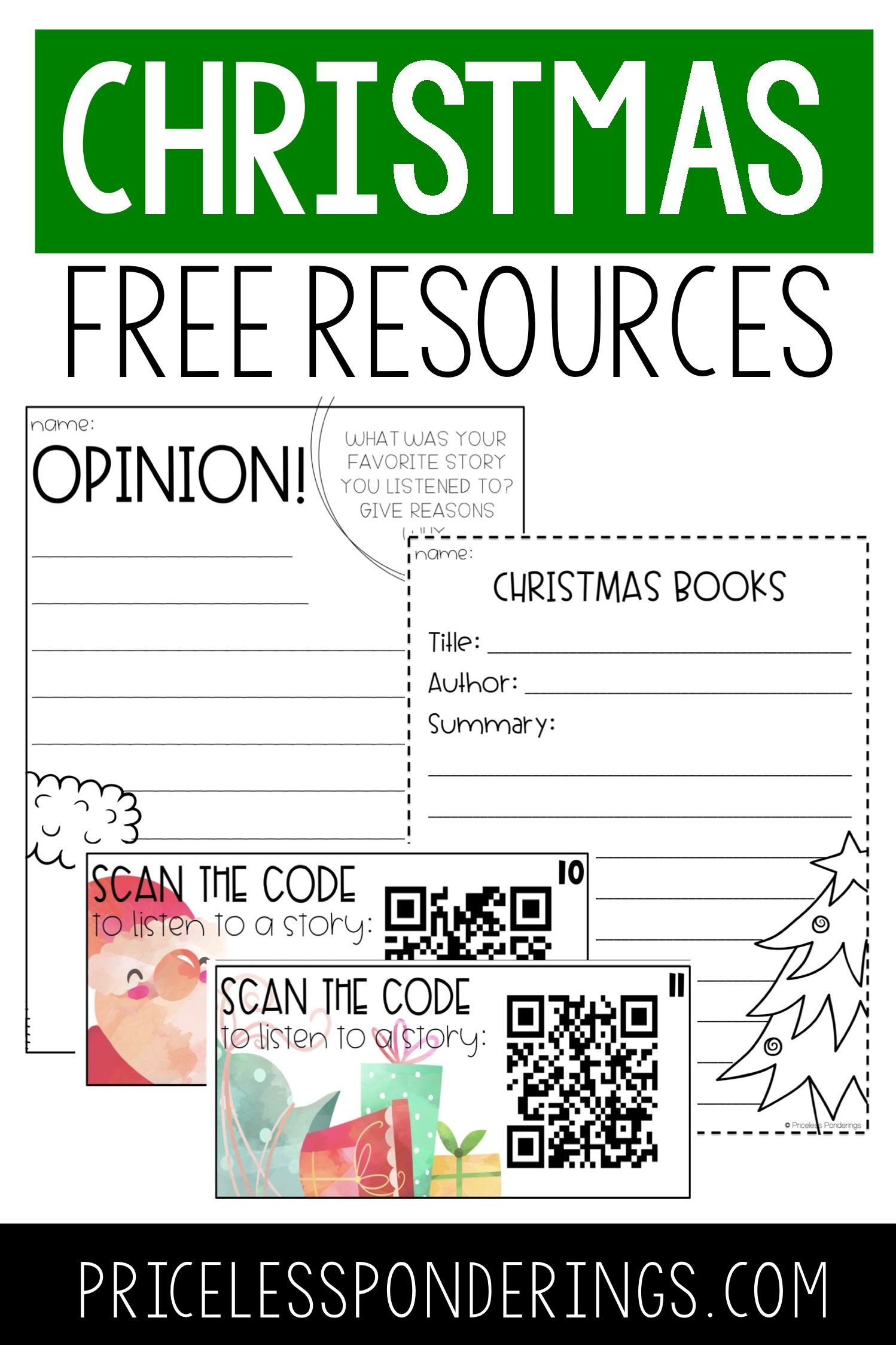 Christmas Activities And Freebies