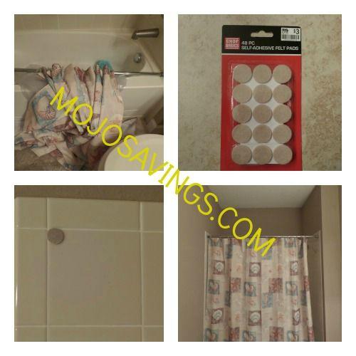 Diy Easy Fix For Falling Shower Rod Shower Rod Tension Shower Rod Shower Curtain Rods