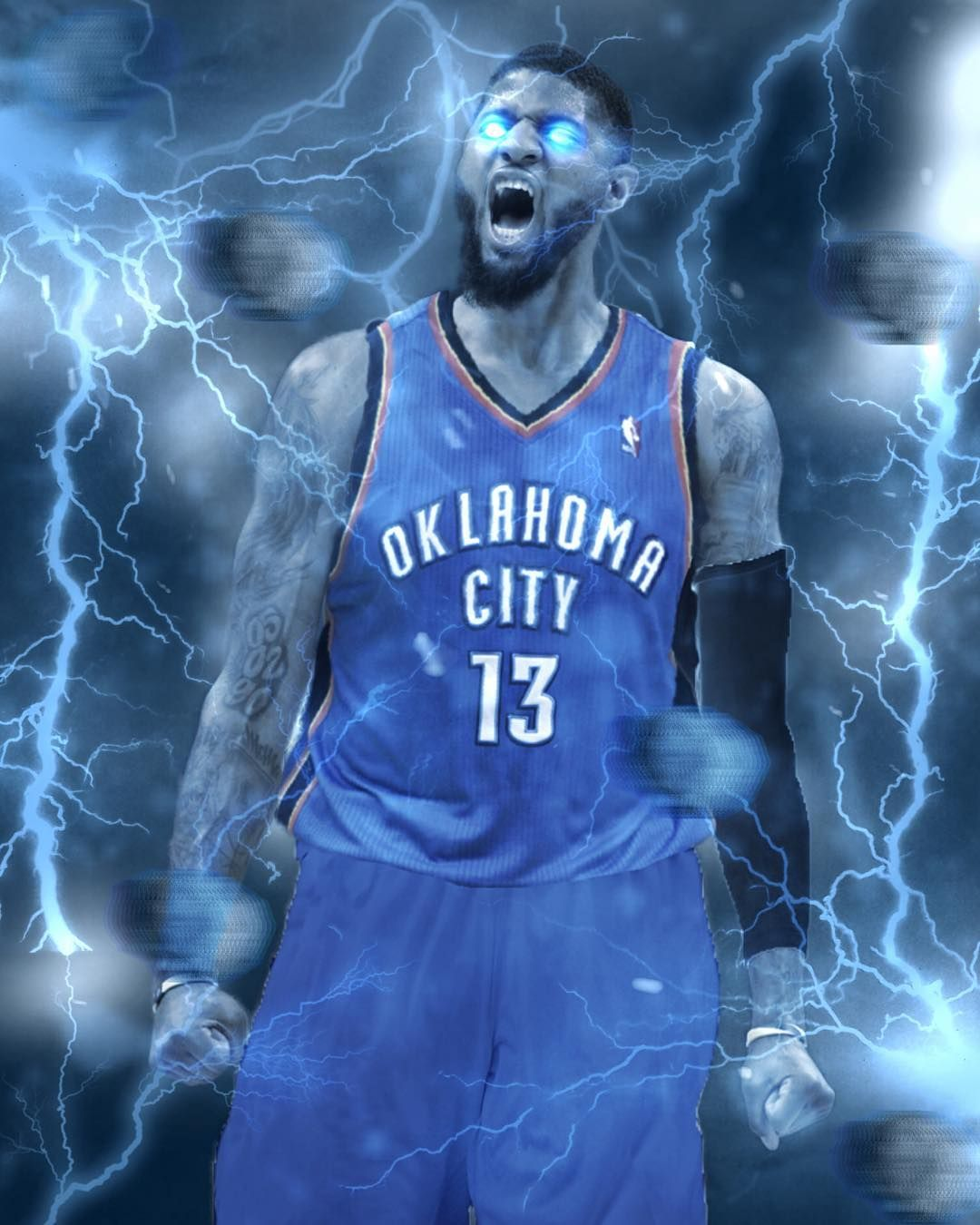 eb7147a9cfd Paul George to the thunder I wish harden was still with the thunder ...