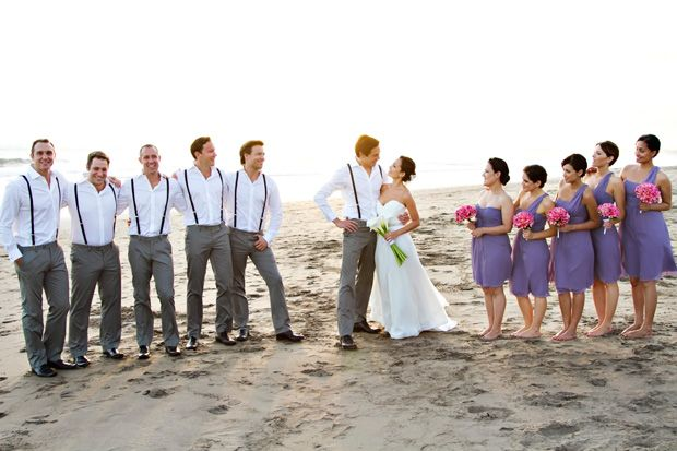 grey and lavender wedding party colours - Google Search | Wedding ...