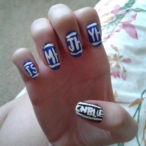My CNBLUE nails