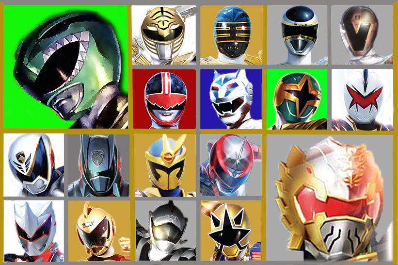 The 6th Rangers Power Rangers
