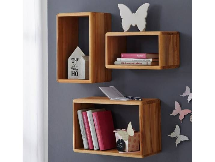 Raumteiler Holz Metall Kernbuche Massiv Anthrazit Buchefarben