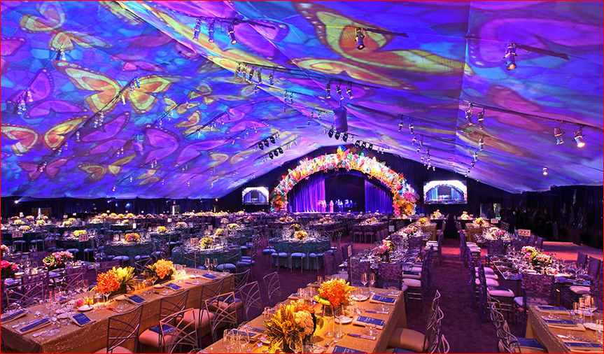 Event ideas & Projection Mapping on inside of tent | Projection Mapping ...