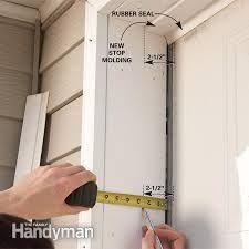 Weather Stop Molding Clopay Garage Door Diy Garage Door Garage Door Insulation Garage Door Trim