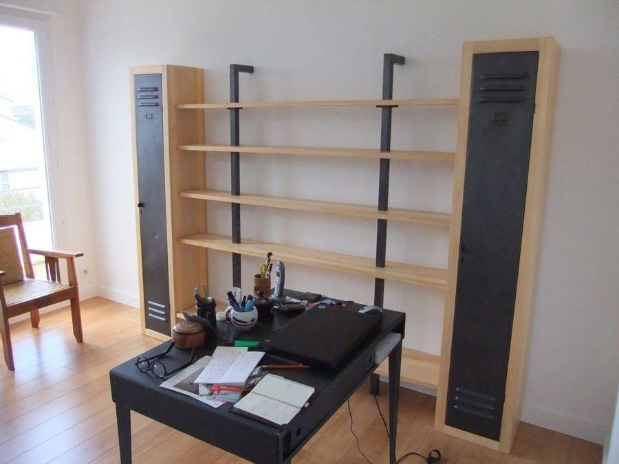 Résultats de la recherche d\'images Bibliothèque Style Industriel ...