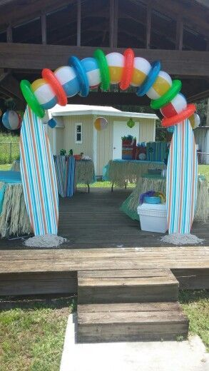 Beachball Archway Google Search Surf Theme Party Surf Party