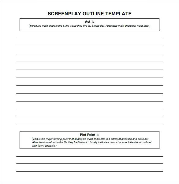 Screenplay Format Template Play Script Template Blank Screenplay