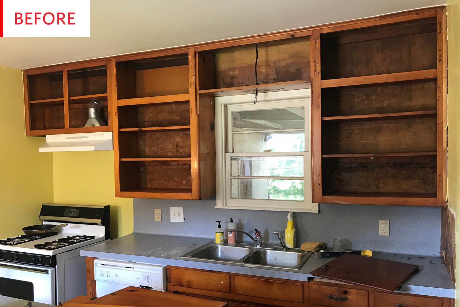 Before And After This Kitchen Was A Rat Infested