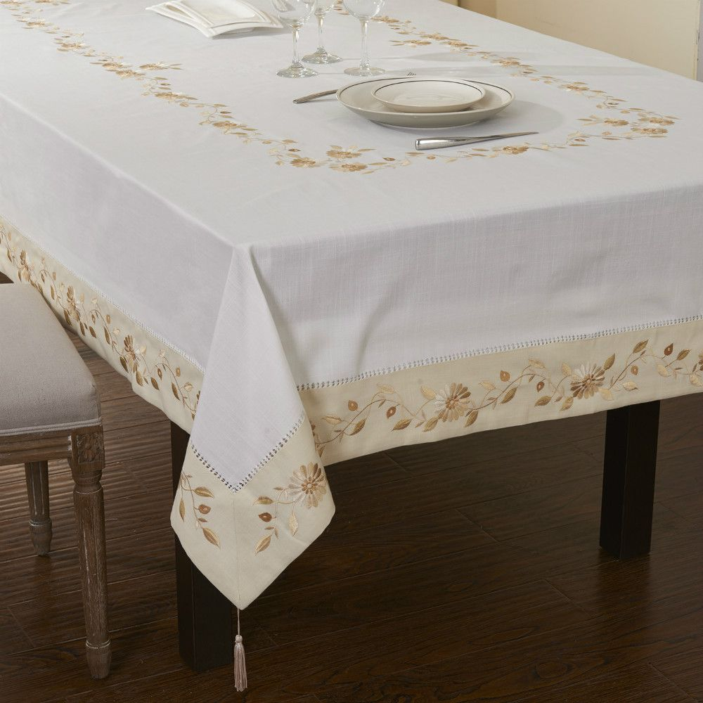 Merveilleux Aliexpress.com : Buy 50%OFF Big Size Poly Cotton Hemstitched Embroidery Table  Cloths