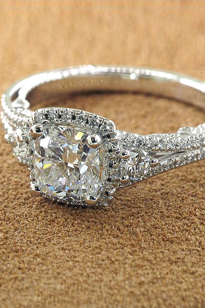 and engagement beautiful jewelry diamond estate from brides jewellery asscher chic rings cut ring vintage edj sapphire