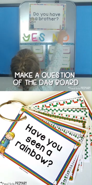Question of the Day for Kids - connect with students